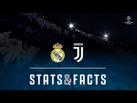 Real Madrid vs Juventus | UEFA Champions League | Stats & Facts