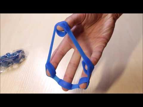 Finger Resistance Bands Hand Gripper