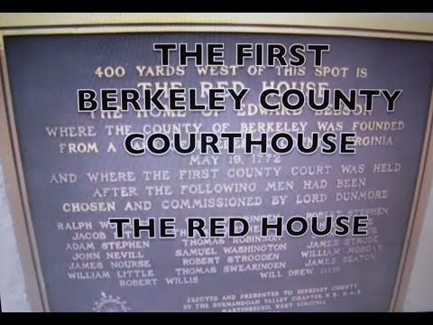 First Berkeley County Courthouse the Red House.