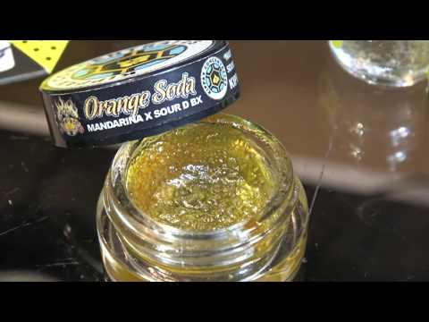 Cannabis Club Barcelona Nectar Club, Buds and Hash, Shatter, Wax & Oils on Hash Bar TV