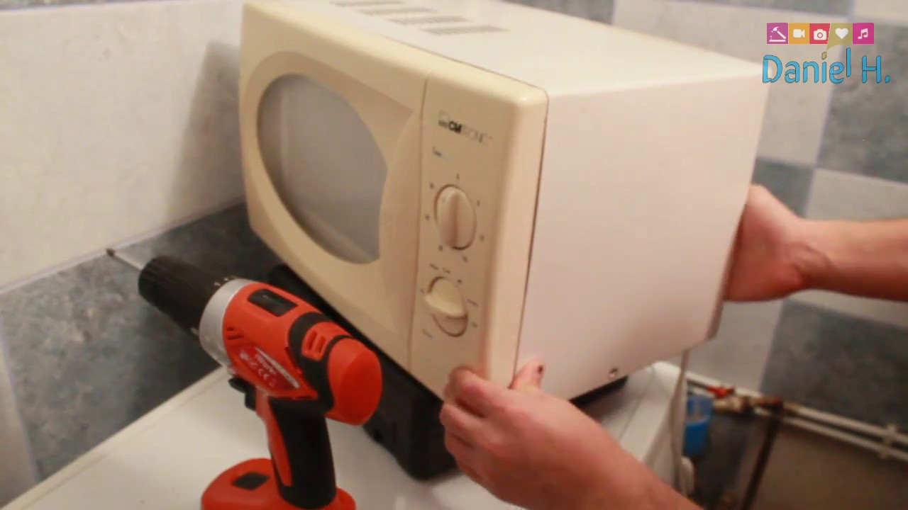 Microwave working but not heating - easy FIX - YouTube