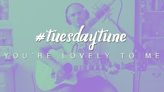 You're Lovely To Me (Lucky Jim) - live acoustic cover | #tuesdaytune 33
