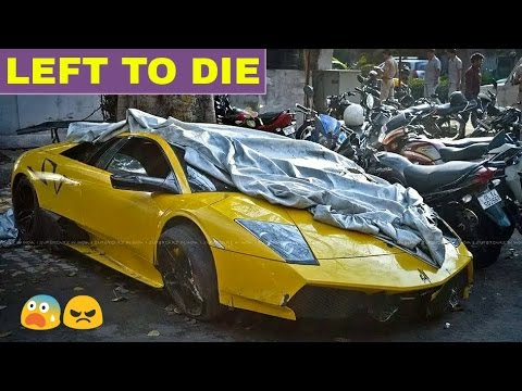 ABANDONED EXOTIC CARS in INDIA (PART 3) ! ! !