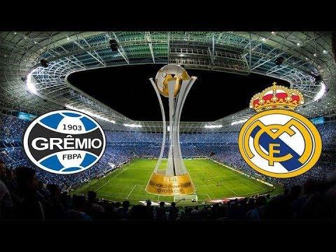 Gremio vs Real Madrid ⚽ LIVE STREAM HD - FIFA WORLD CLUB CUP FINAL17  16/12/2017 Live Stats 2nd Half