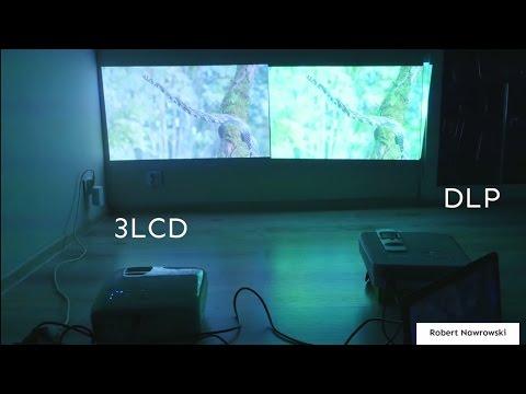 3LCD i DLP   różnice widoczne gołym okiem - projektor Epson EH-TW5350