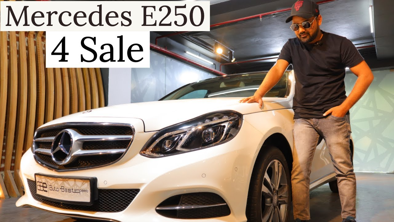 Brand New Condition Mercedes E250 CDI For Sale | Preowned Luxury Car | My Country My Ride