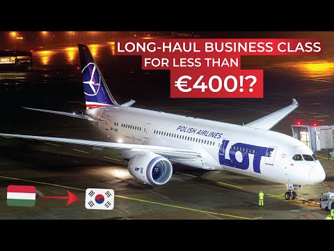BRUTALLY HONEST Review Of LOT Polish Airlines' Long-Haul BUSINESS CLASS!