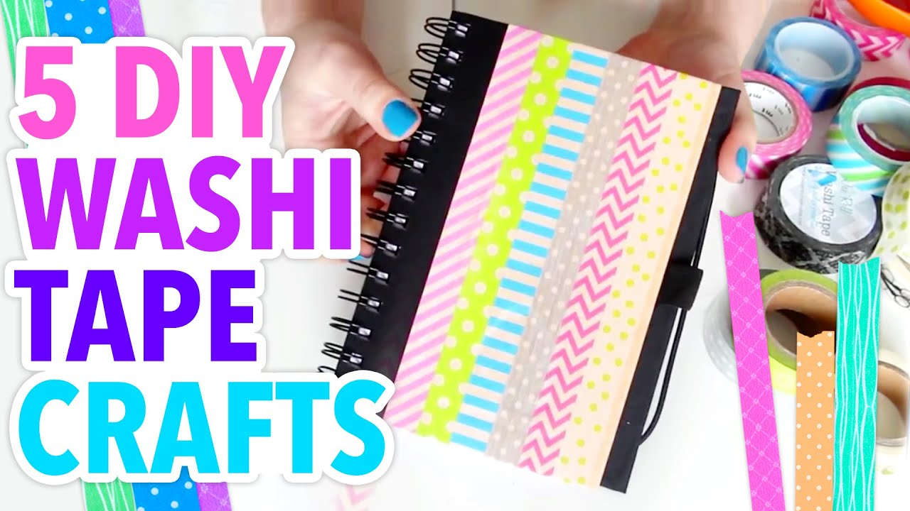 Washi Tape Crafts 5 Easy Washi Tape Crafts  Weekly Recap  Hgtv Handmade  Youtube