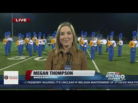 Sound-off: Marana High School Marching Band brings it in the GMT Wake-Up Call
