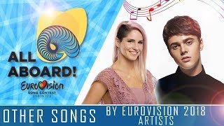 OTHER SONGS BY EUROVISION 2018 ARTISTS