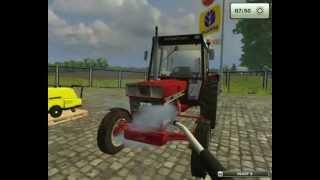 Framing simulator 2013 Mycie ciągnika