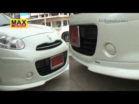 NISSAN March 2010 with Body kit Parto