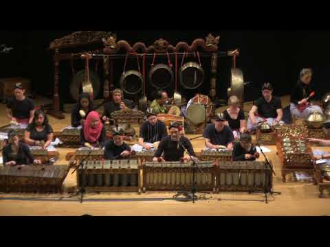"Emory Gamelan Ensemble performs two songs before Wayang Kulit performance ""Prosperity of Wibisana"""