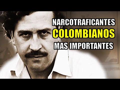 Narcotraficantes Colombianos más importantes 📂