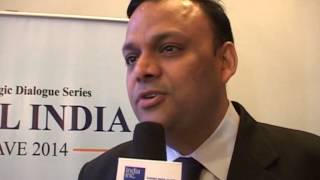 Arvind Gupta, National Head, BJP IT Cell speaks to India Inc. at the Digital India Conclave 2014