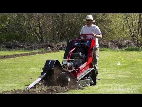 712mt Barreto Micro Trencher How To Operate Doovi