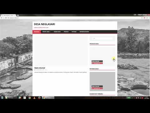 Sideka Wordpress Tutorial || Postingan Berita, Edit Berita dan Menghapus Berita || part 2 thumbnail