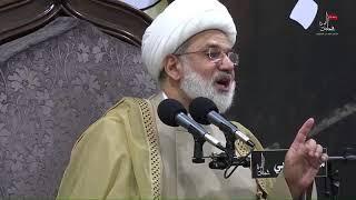 الشيخ زهير الدرورة - ما ورد عن الإمام العسكري عليه السلام في حديثنا صعب مستصعب