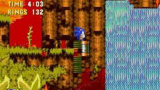 Sonic 3 and Knuckles Glitches and Oversights - Angel Island Zone