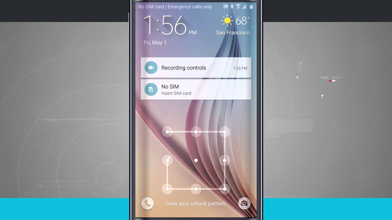 How to Customize the Lock Screen on Samsung Galaxy S6 Edge ...