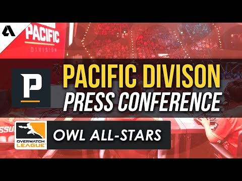 Overwatch League All-Star Weekend Pacific Division Press Conference thumbnail