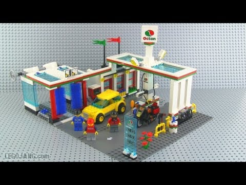 lego city 7993 service station review youtube. Black Bedroom Furniture Sets. Home Design Ideas