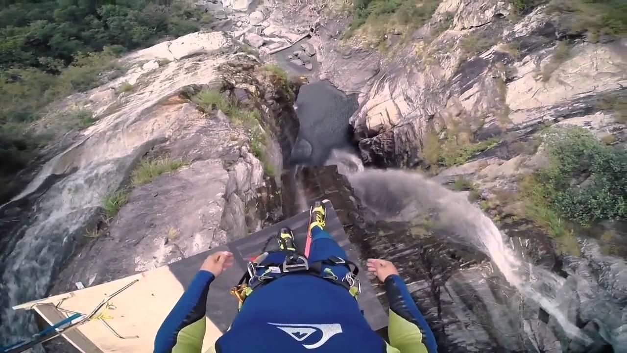 Прыжок со скалы высотой в 58,8 метра МИРОВОЙ РЕКОРД