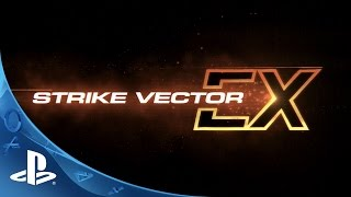 Strike Vector EX - Gameplay Trailer | PS4