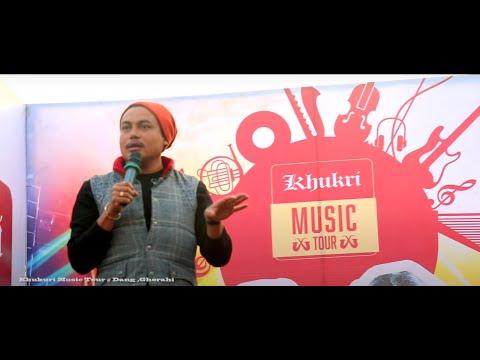 sandeep chhetri best comedy act .. khukuri music tour @ Dang Ghorahi