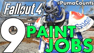 Top 9 Best Power Armor Customization Paint Jobs and Skins in Fallout 4 (Including DLC) #PumaCounts