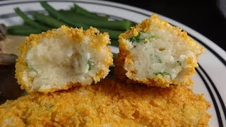 Crispy Potato Cheese Logs - With Yoyomax12