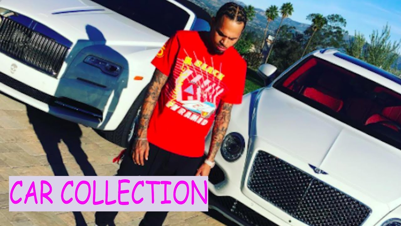 Chris brown car collection - YouTube