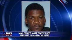 Man on APD most wanted list arrested in Mass