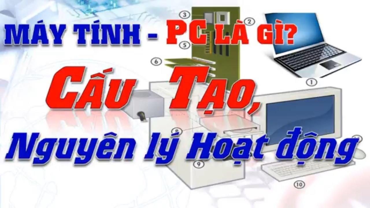 PC là gì? Phần cứng máy tính là gì? Cấu trúc máy tính gồm những bộ phận nào?