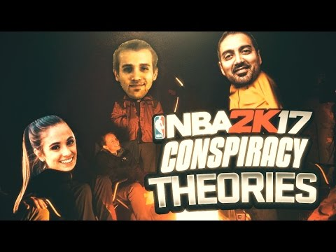 NBA 2K17 CONSPIRACY THEORIES!! RONNIE2K IS UP TO SOMETHING!!