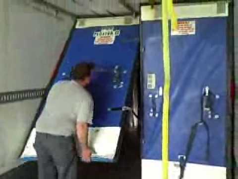 Multi-temperature trailer bulkhead operation