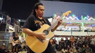 Dibadai Asmara - Bob bawak lagu rock 90an memang teruja semua pengunjung.