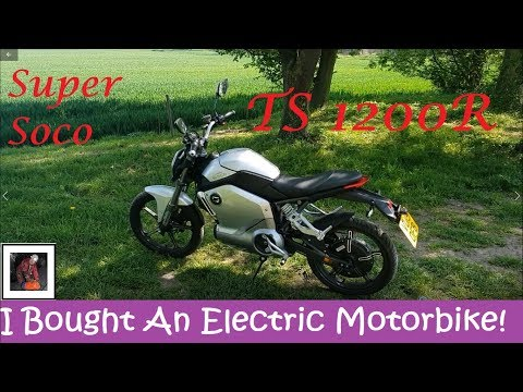 Super Soco TS1200R Review - Electric Motorcycle!