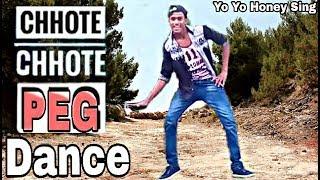 Chhote chhote peg Dance | yo yo honey sing | Abhijit Sharma Choreography.