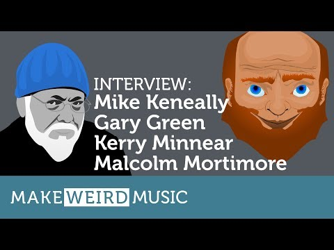 Interview: Mike Keneally & Gary Green, Kerry Minnear, Malcolm Mortimore (of Gentle Giant)