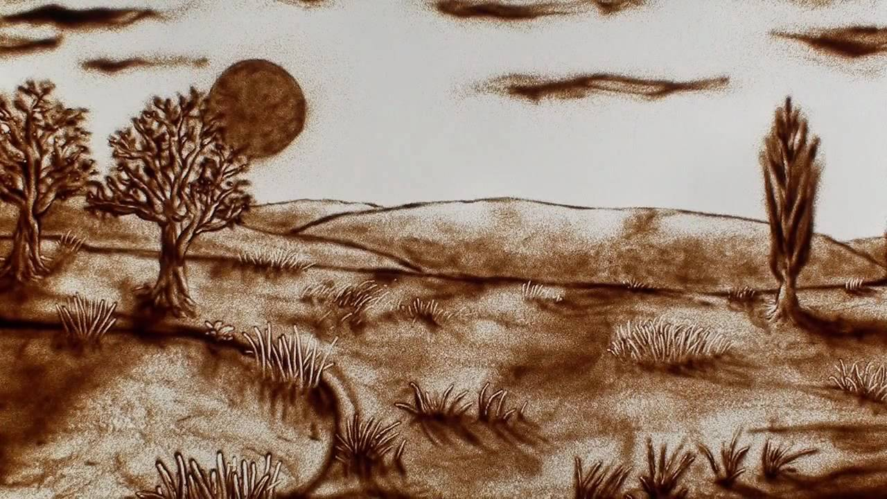 Sand animation film: Mangez Buvez Gavez / It's not food!