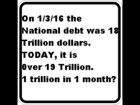 The National debt lie.