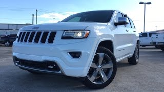 2016 Jeep Grand Cherokee Overland - Review & Test Drive