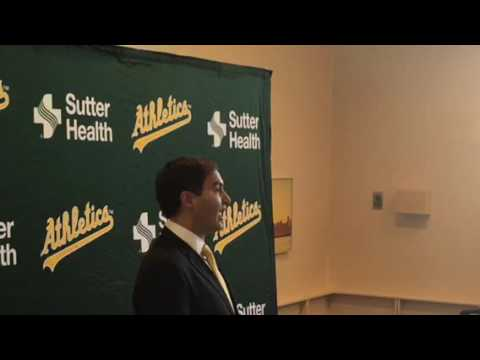 New Oakland A's President Says He Has Privately Financed Stadium Experience