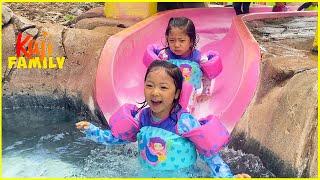 Family Fun Water Park in Hawaii with Kaji Family!
