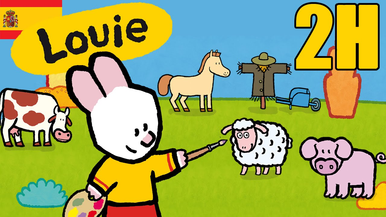 bd7f997c77 2 horas de Louie: La campaña - Compilacion | Dibujos animados para niños -  YouTube