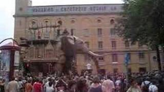 GIANT ELEPHANT IN ANTWERP (ROYAL DE LUXE)