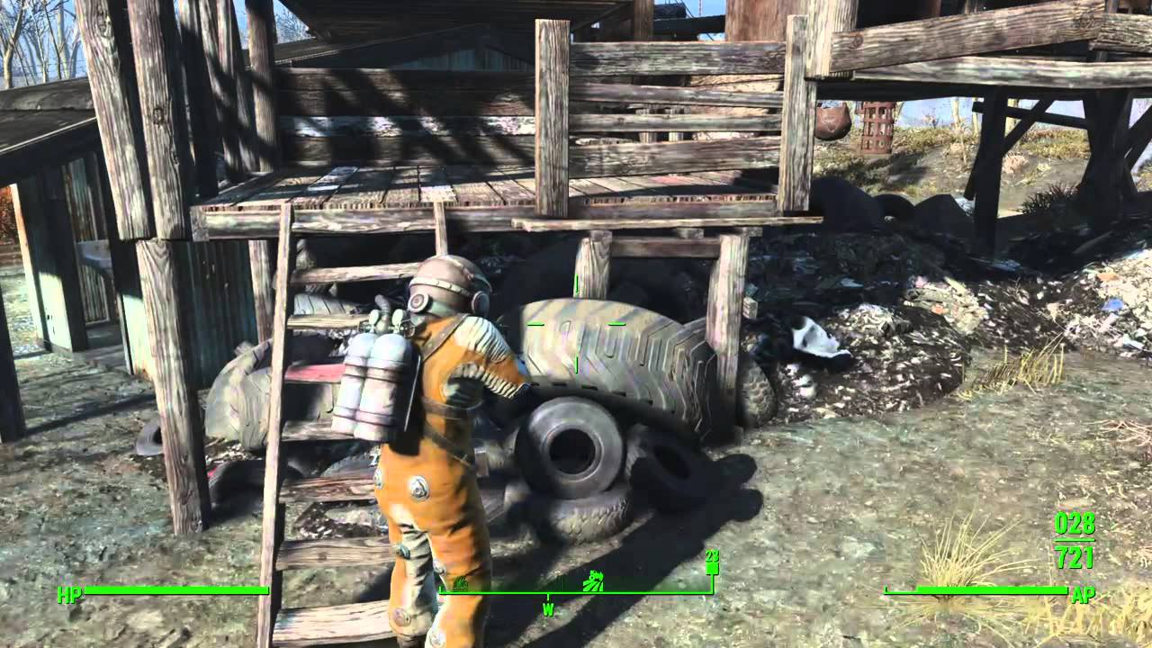 fallout 4 kill the super mutant in breakheart banks youtube