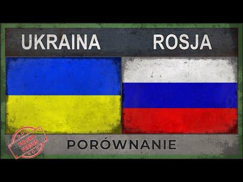 UKRAINA vs ROSJA | Zestawienie Armii [2018]