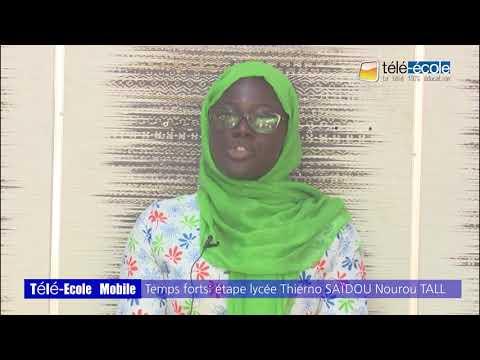 Régie mobile de Télé-Ecole, Lycée Saïdou Nourou